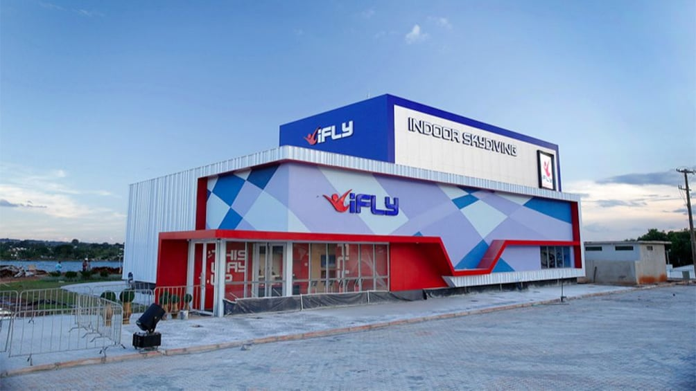 Show item 2 of 6. Building to the Indoor Skydiving Experience in Sao Paulo (city), Brazil