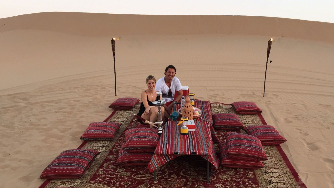 Private Exclusive Dune Dinner at Sunset