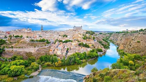 Landscape view of beautiful Toledo