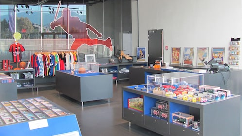 Shop in the National Sport Museum in Nice
