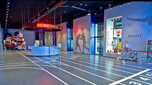 Interior of the National Sport Museum in Nice