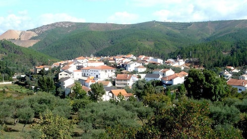 Village nestled in the forest in Lisbon