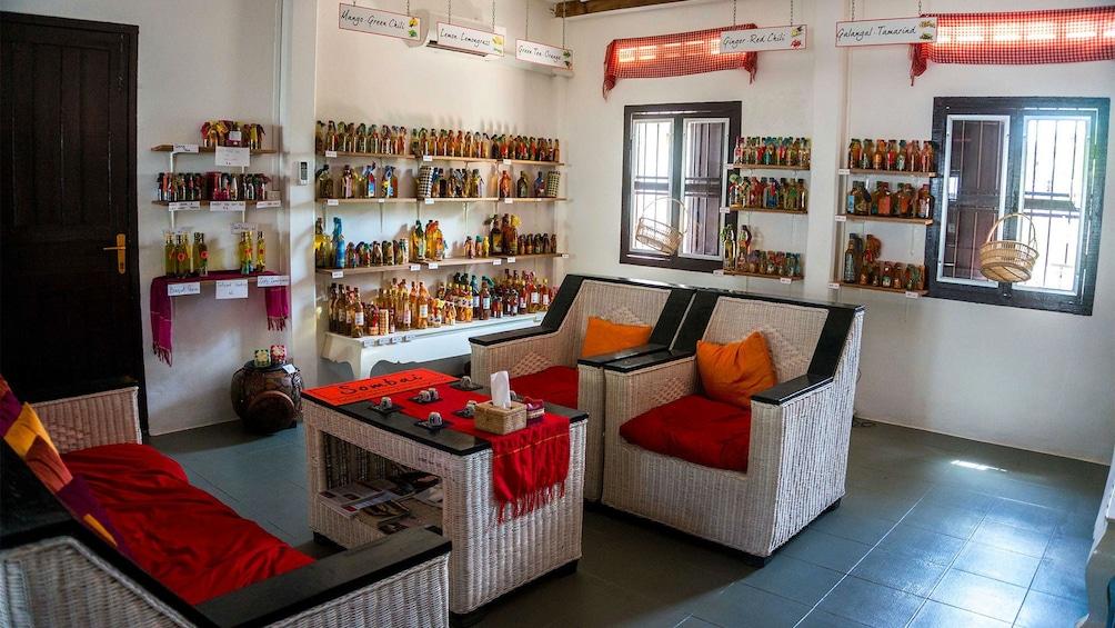 Show item 2 of 8. View inside Sombai workshop in Siem Reap