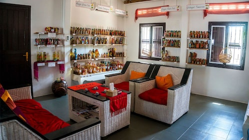 View inside Sombai workshop in Siem Reap
