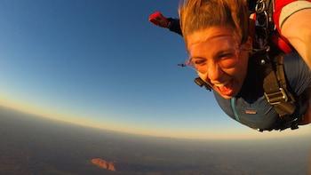 Tandem 12 000 feet Sunrise/Sunset Skydive Over Uluru