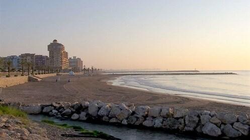 Beach in Valencia Spain