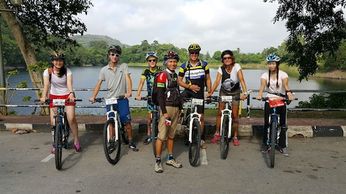 Biking group tour in Thailand