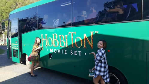 Private Hobbiton Transportation in a Luxury Vehicle