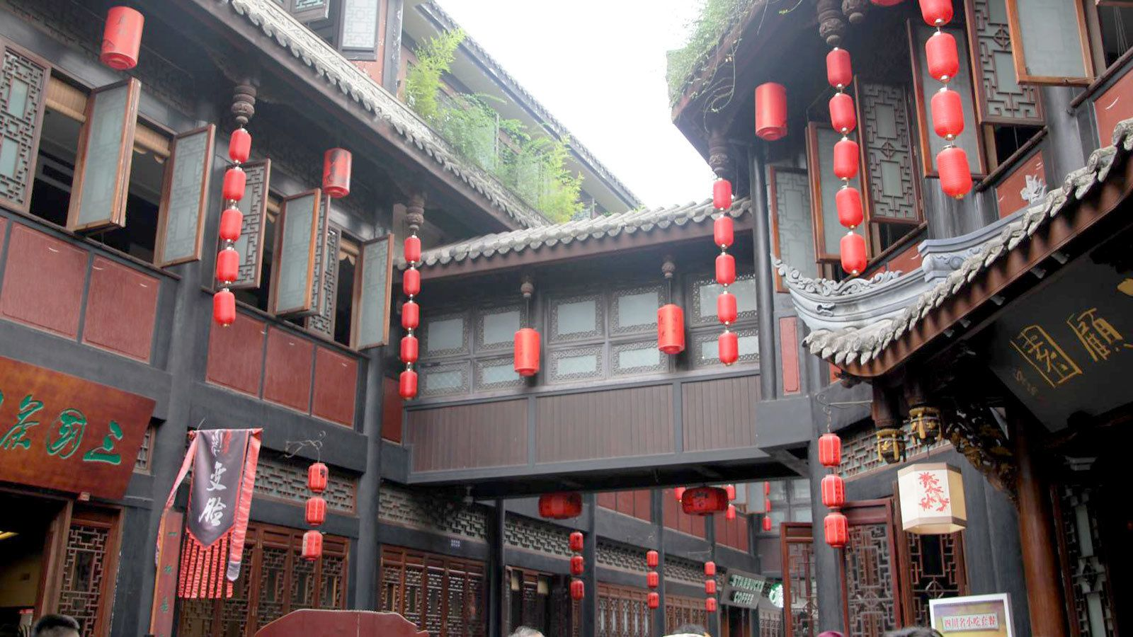 Traditional building in Chengdu