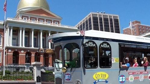 Boston Hop-On Hop-Off Trolley Tour