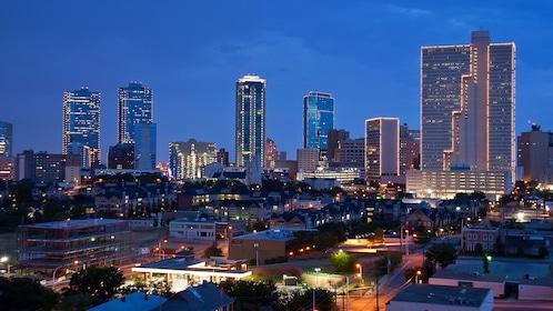 Fort Worth at night