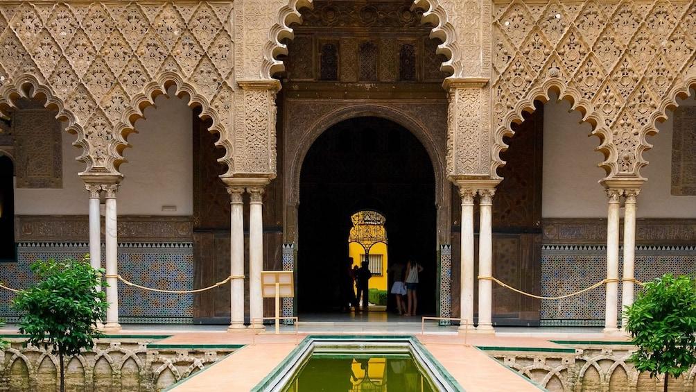 ornate building in madrid