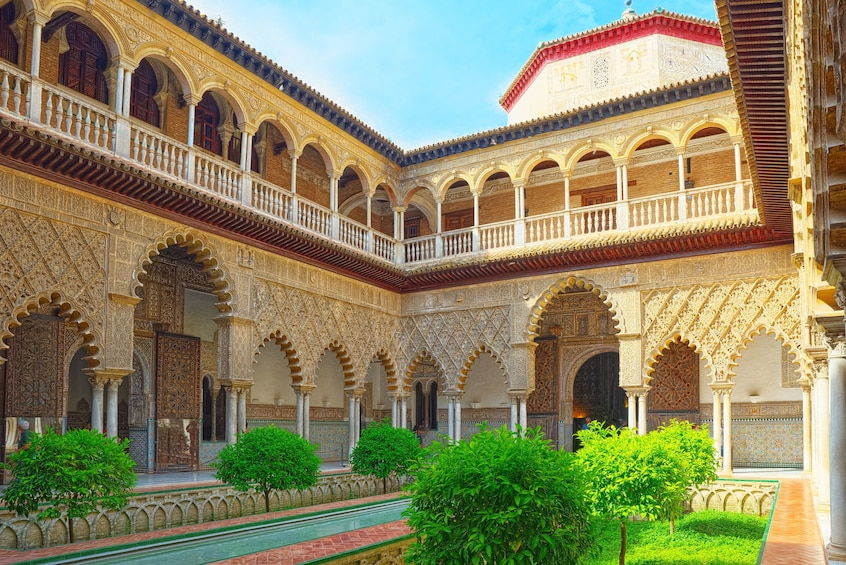 Show item 10 of 10. Fast Access Tour to The Alcázar of Seville