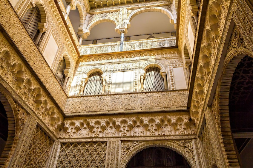Show item 2 of 10. Fast Access Tour to The Alcázar of Seville