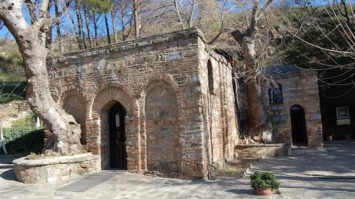 stone building in izmir