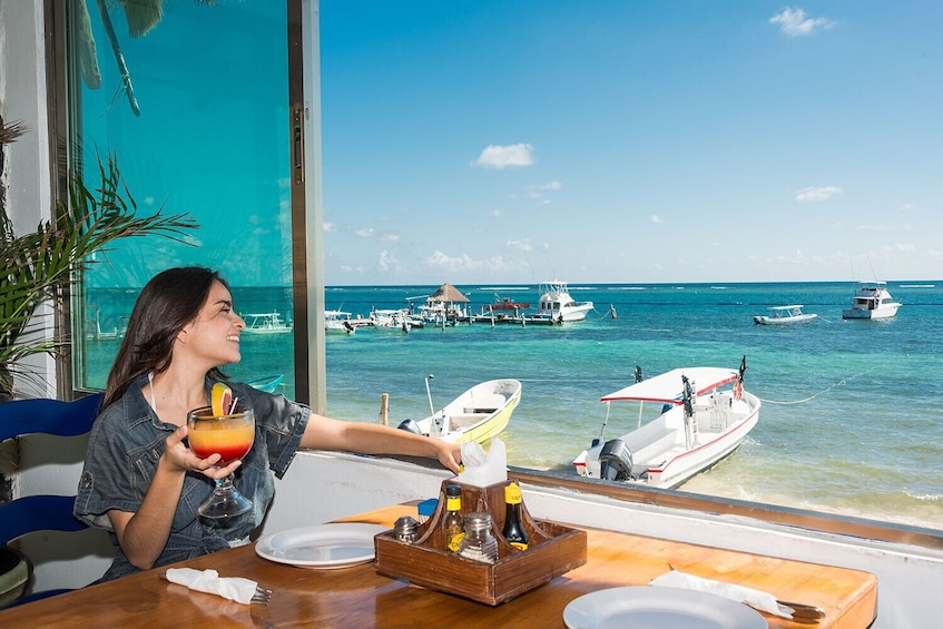 Show item 3 of 9. Puerto Morelos Reef Snorkeling Tour with Lunch