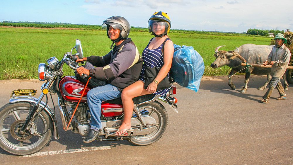 Private Full-Day Motorcycle Tour to Tam Giang Lagoon