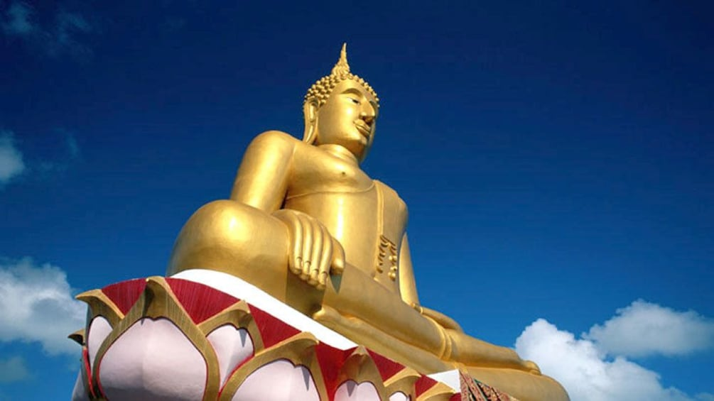 Show item 3 of 5. Samui Island, Thailand -- Big Buddha from Below