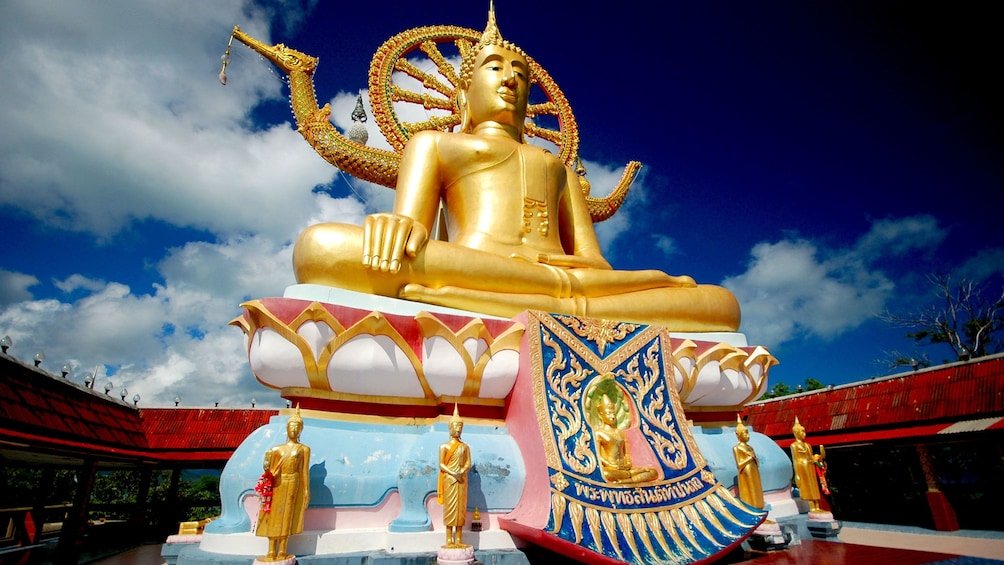 Show item 4 of 5. Big Buddha Temple in Koh Samui, Thailand