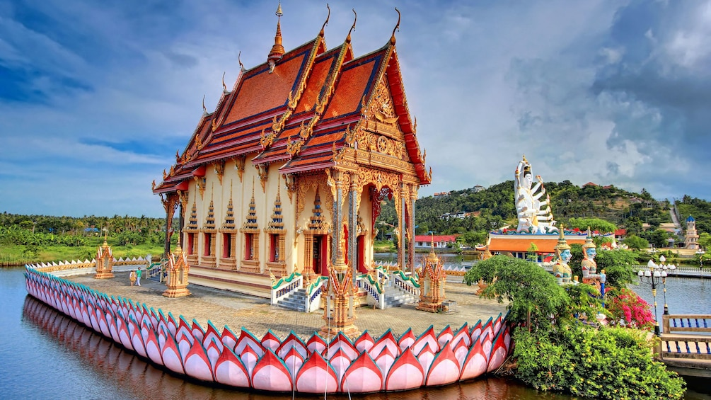 Show item 5 of 5. Floating temple, Koh Samui
