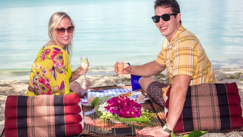 Picnic on the Beach in Thailand