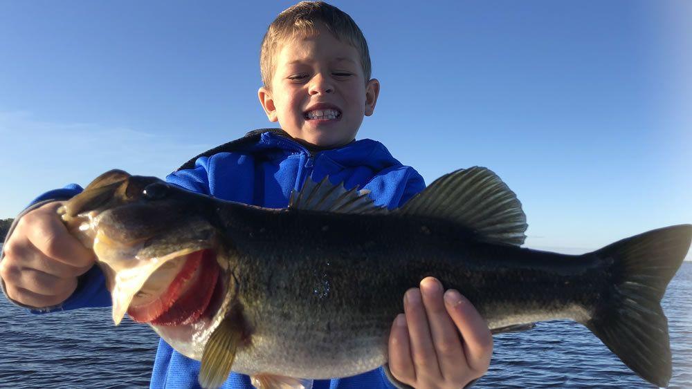 Kissimmee Bass Fishing