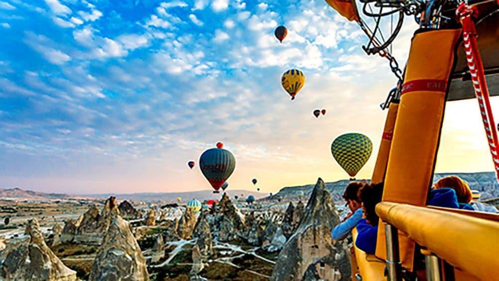 Show item 4 of 5. Hot Air Balloons over Cappadocia