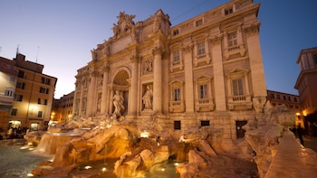 Rome Evening Tour with Piazza di Spagna & Trevi Fountain