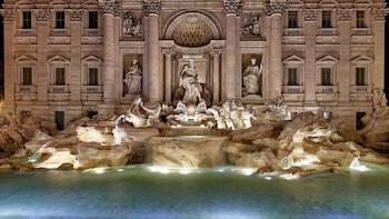Visite nocturne de Rome incluant la Piazza di Spagna et la fontaine de Trev...
