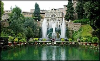 Tivoli Day Trip to Hadrian's Villa & Villa d'Este with Lunch