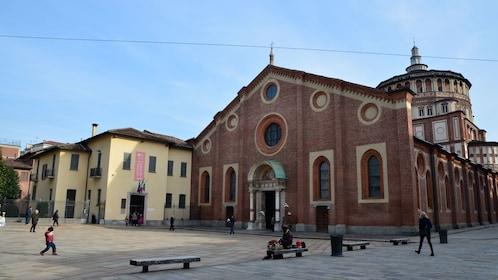Santa Maria Delle Grazie cathedral in Milan