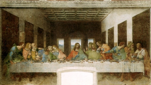 The Last Supper artwork in Milan