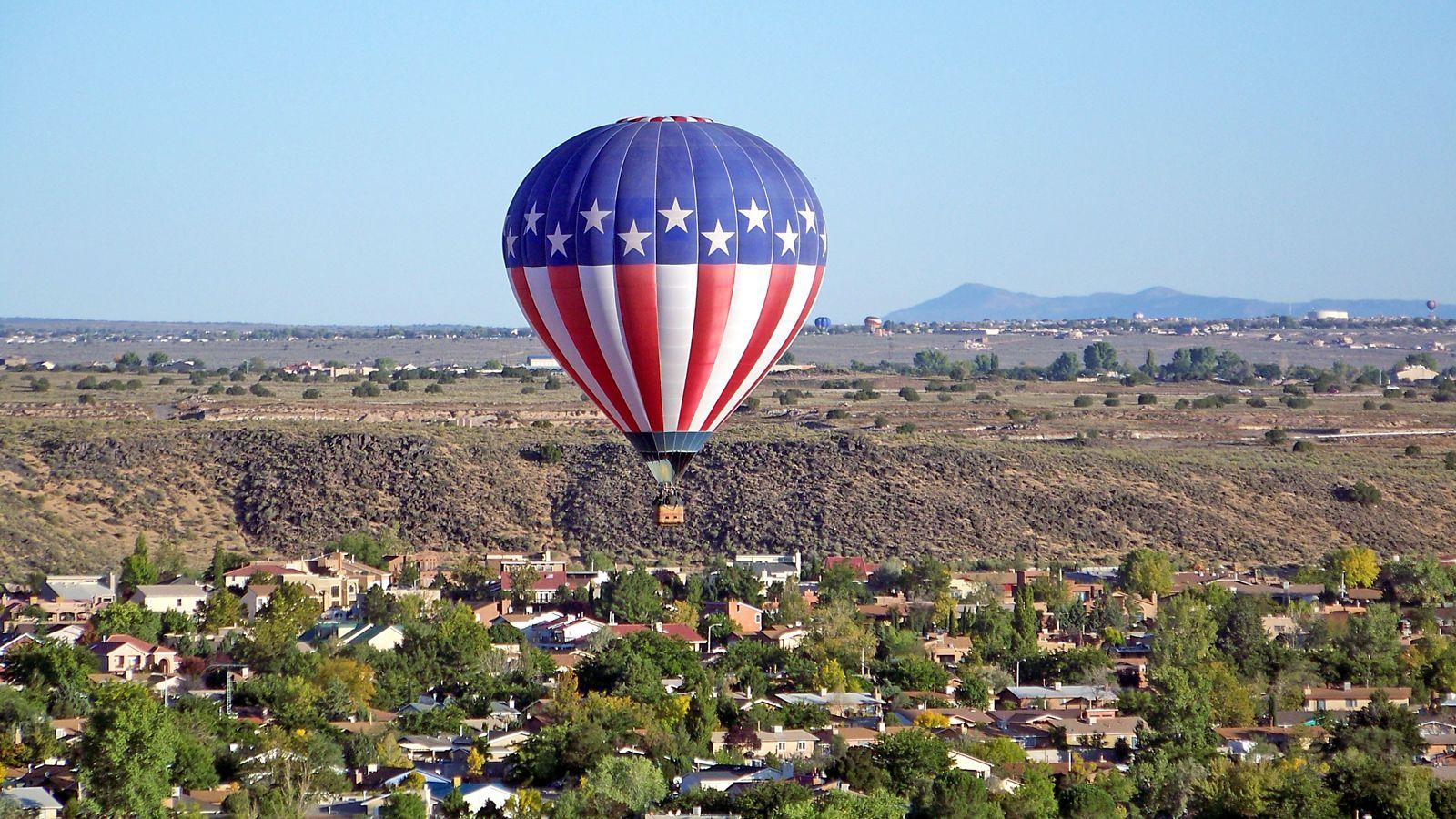 Guided Hot Air Balloon Tour