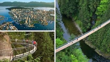 City Delights Tour with Capilano Suspension Bridge Park & Fish Hatchery