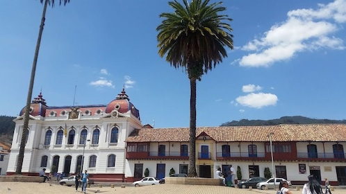 Colonial buildings in Colombia
