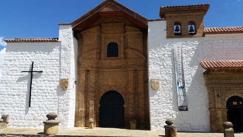 Colonial church in Colombia