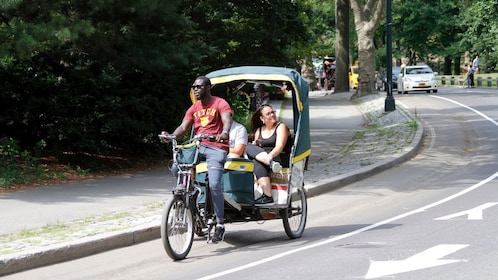 Pedicab in Central Park in New York