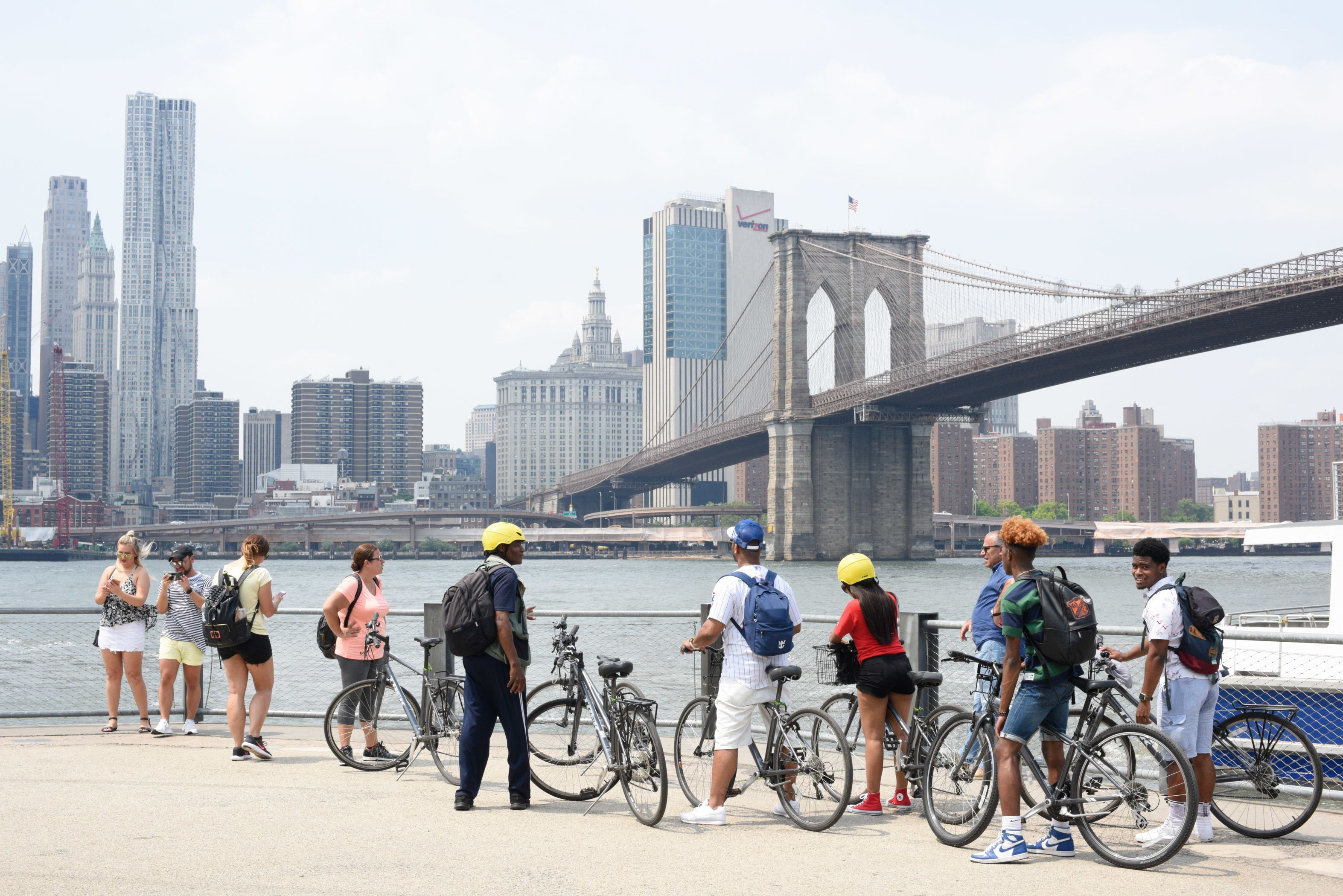 Live Guided Bike Tour of New York City's The Brooklyn Bridge