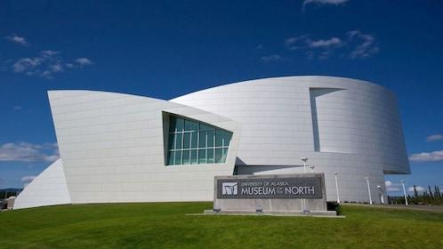 University of Alaska Museum of the North exterior in Fairbanks