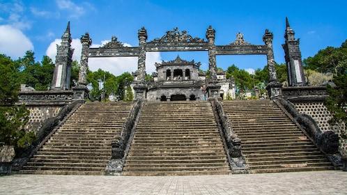 Tomb of Khải Định in Huế, Vietnam