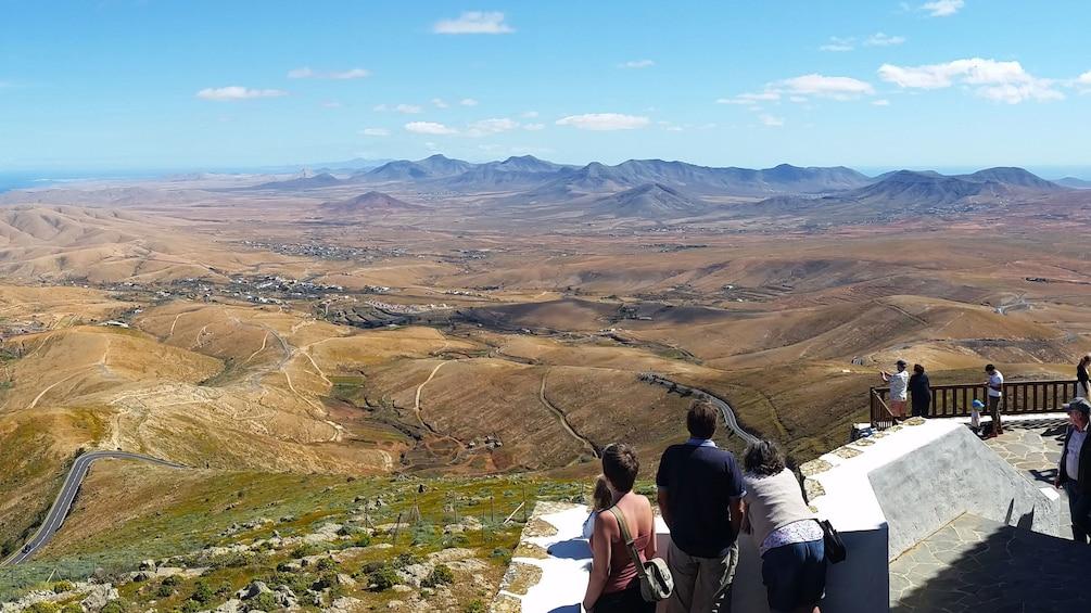 Valley in Fuerteventura