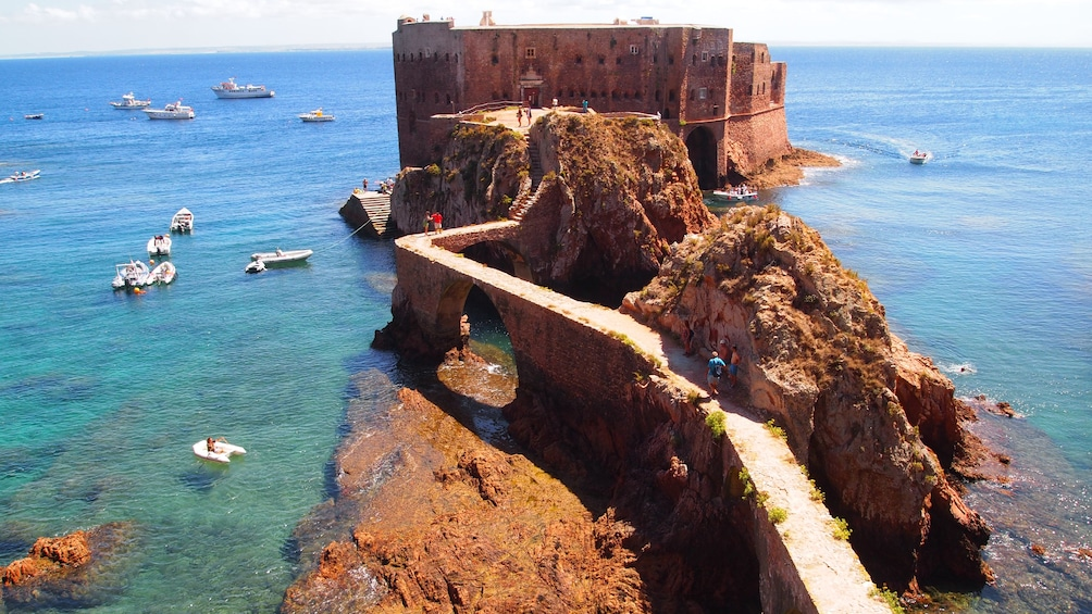 The Fort of São João Baptista in Portugal