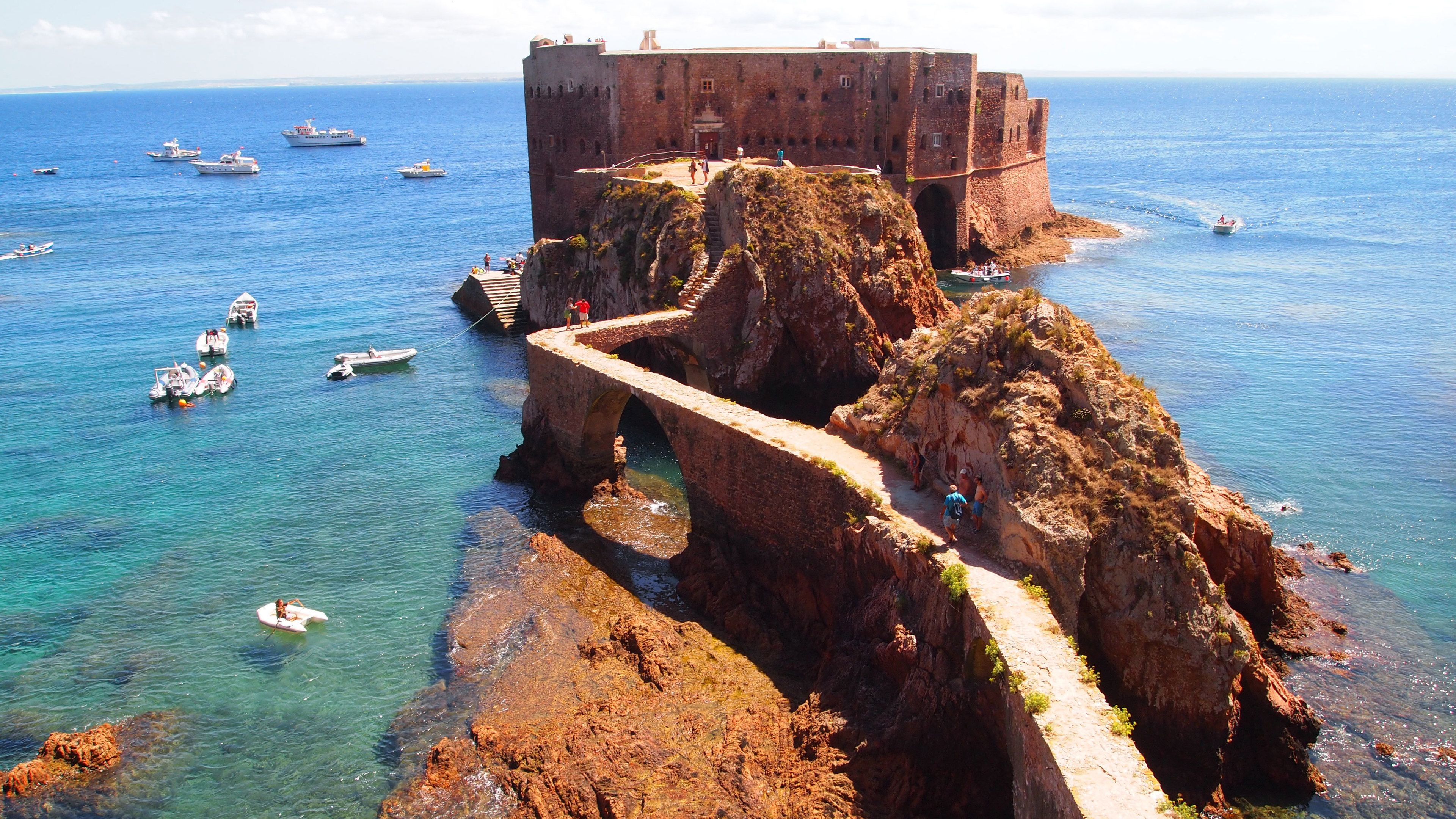 Island fortress in Berlengas Islands