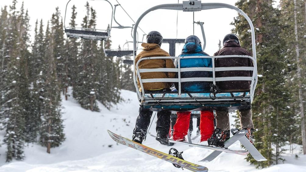Cargar ítem 2 de 5. Ski lift in Vail