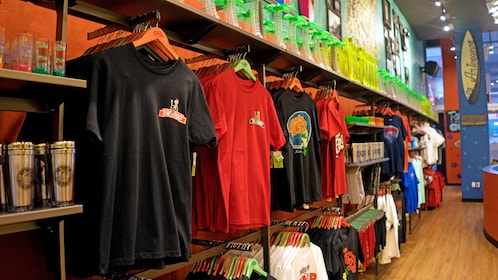 gift shop at the Senor Frogs in Las Vegas