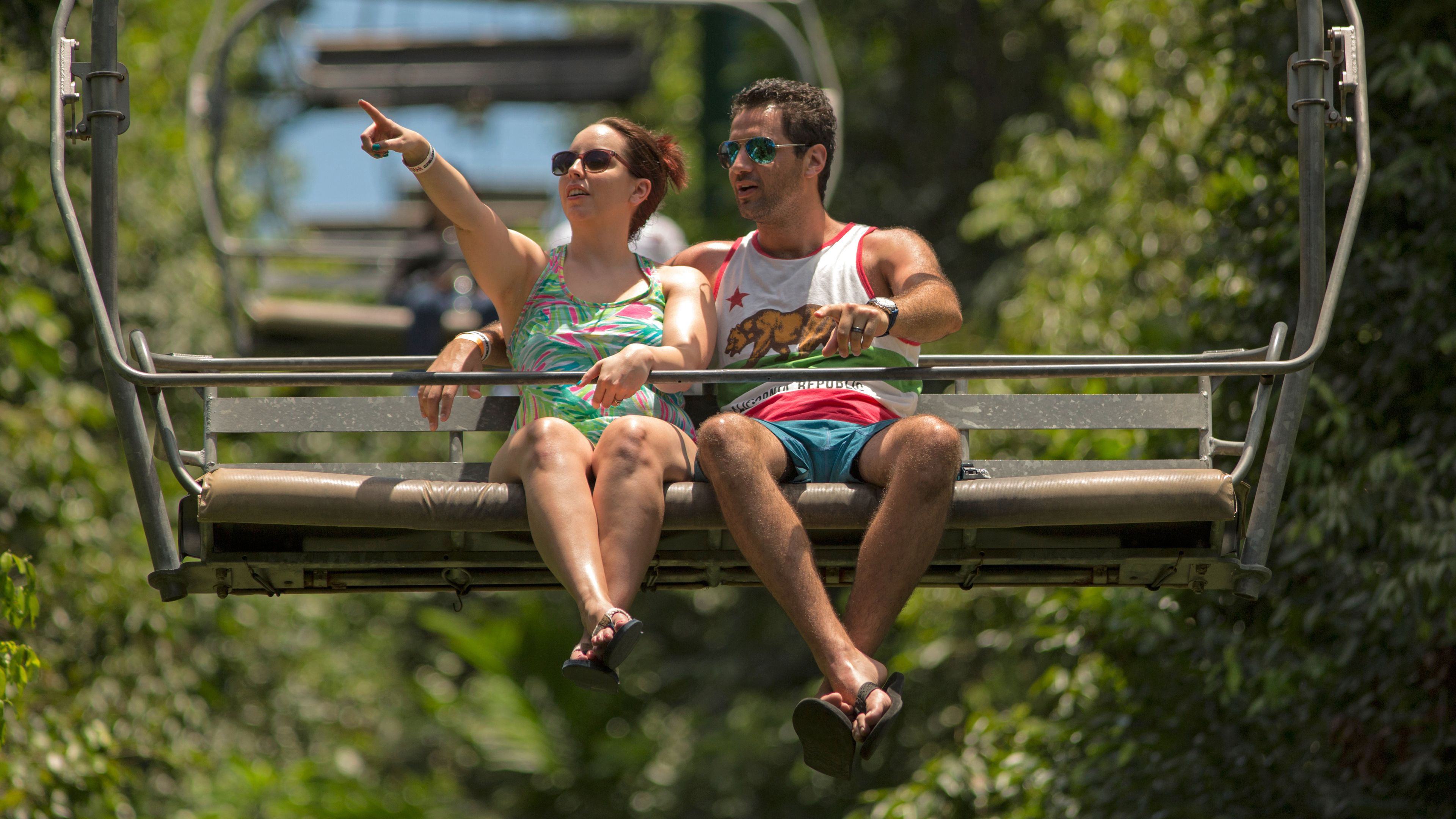 Zipline, Bobsled & Sky Explorer Tour at Mystic Mountain
