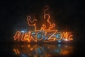 2 Players Hero Zone VR Arena, 3 Games for 35 Mins.