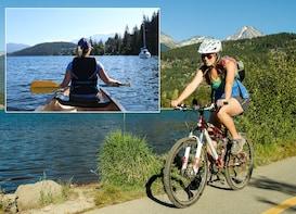 Alta Lake Nature Pedal & Paddle Tour - Self-Guided