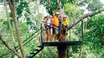 Half-Day Zip lining Excursion in Manuel Antonio