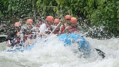 Whitewater Rafting at the Savegre River